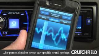 Alpine CDE-147BT Car CD Receiver Display and Controls Demo | Crutchfield Video