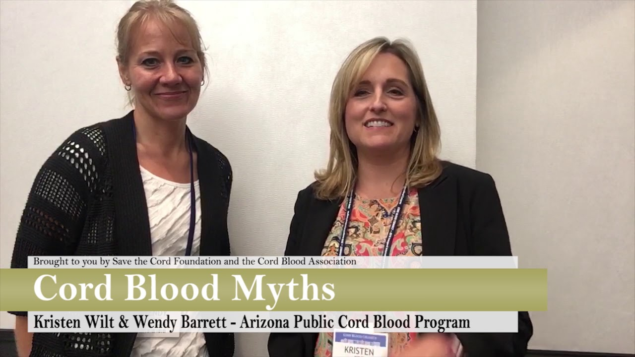 Cord Blood Myths: Busted! Arizona Public Cord Blood Program