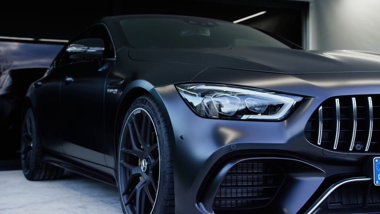 the all new mercedes amg gt 63 s 4matic 4 door coupe exterior design youtube. Black Bedroom Furniture Sets. Home Design Ideas