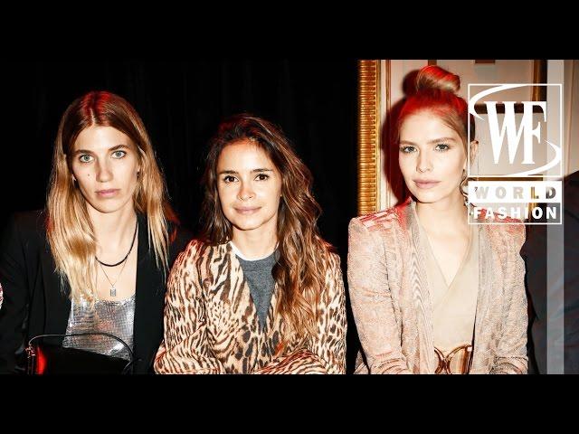 Front Row Paris Fashion Week Fall-Winter 16-17