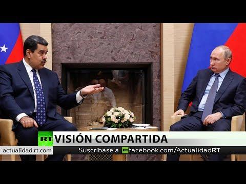 Putin condena los intentos de forzar un cambio político en Venezuela