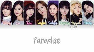 Girls' generation (소녀시대) snsd – paradise credits : https://colorcodedlyrics.com korean: wgsnsdfx.com, hikaru @ccl rom: eng: popgasa.com, @...