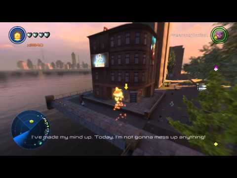 LEGO Marvel's Avengers South Manhattan (Financial District, Times Square, +more) Free Roam Gameplay