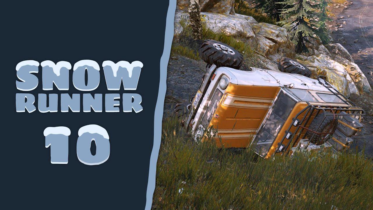 SnowRunner - Cap. 10 - Volcar, el capítulo