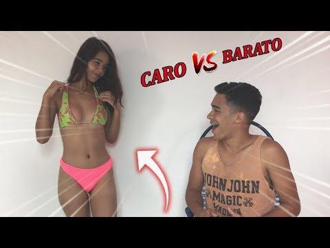 NAMORADO ADIVINHANDO BIQUÍNI CARO VS BIQUÍNI BARATO!