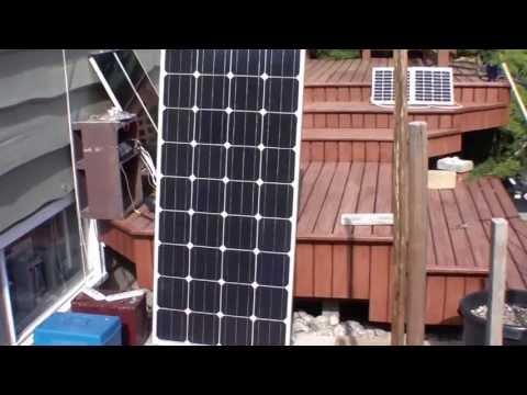 Solar Panel - 160 Watt - Monocrystalline (12V Charging) Initial Testing