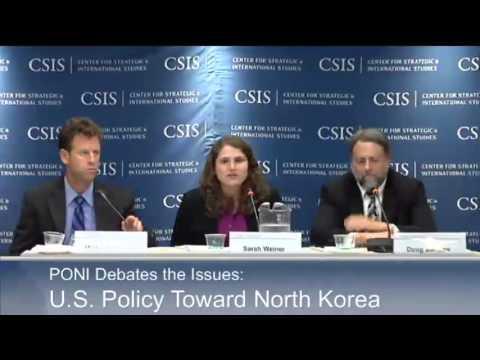 PONI Debates the Issues: U.S. Policy toward North Korea