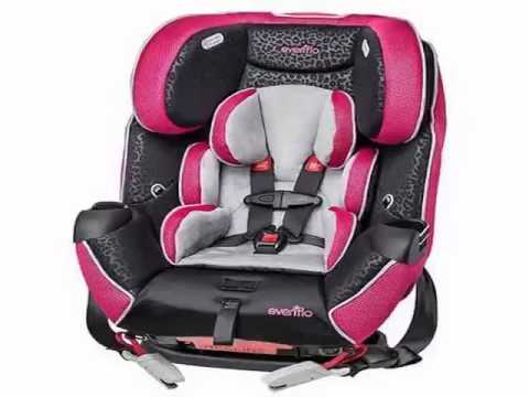 Check Evenflo Platinum Symphony LX All In One Convertible Car Seat Adriann Slide