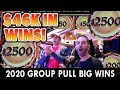 💰 $46,000.00 in SLOT MACHINE JACKPOTS 🎰 GROUP PULLS BEST OF 2020!