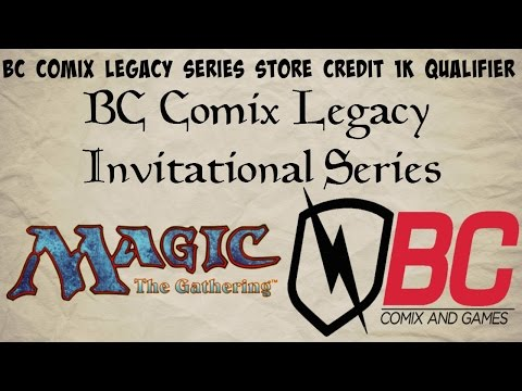 BC Comix Legacy Series Store Credit 1k 6/5/16