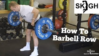 SKIGH Training: Barbell Row Technique [EP. 4]