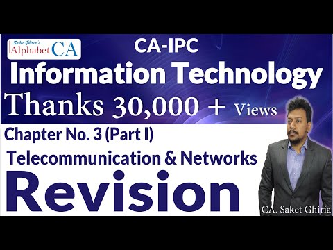 Chapter 3 (Part I) Information Technology Revision