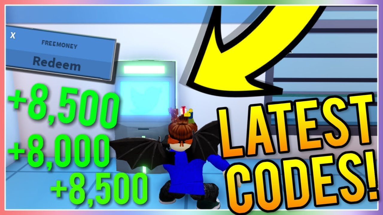 ALL *WORKING* ATM CODES! IN ROBLOX JAILBREAK *MAY 2019