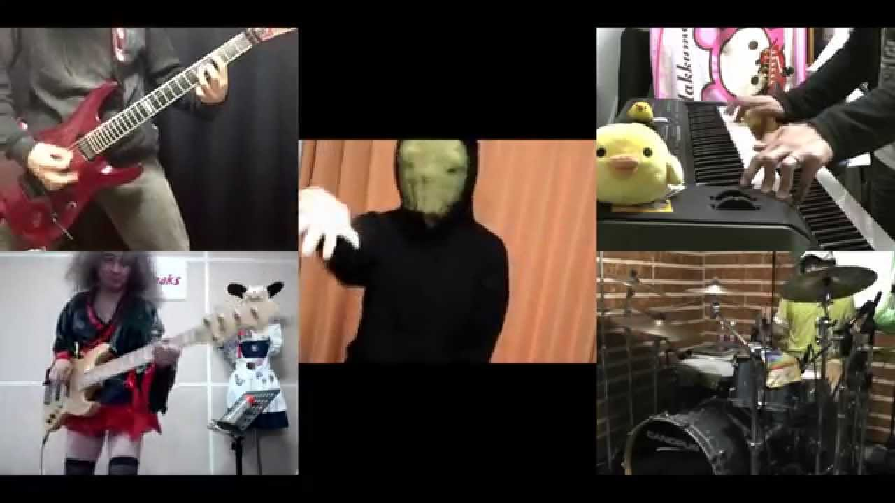 hd]magic kaito 1412 op [kimi no matsu sekai] band cover chords