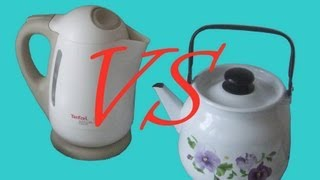 Электрический чайник против газового чайника