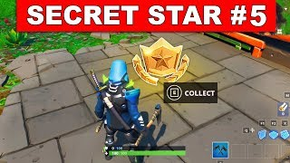 SEASON 9 WEEK 5 SECRET BATTLE STAR LOCATION GUIDE !- Find the Secret Battle Star in Loading Screen 5
