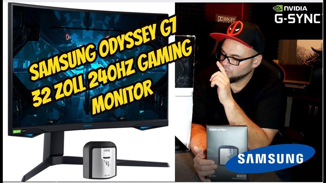 Samsung Odyssey G9 9 Zoll 9hz Gaming Monitor / Gsync / Review Test /  befeuert von einer RTX 9