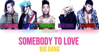 Bigbang - Somebody to Love
