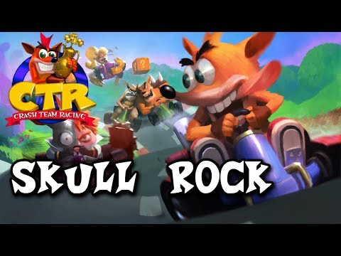 Crash Team Racing Soundtrack - Skull Rock