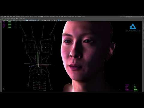 Toei Zukun Lab Digital Human Facial Rig