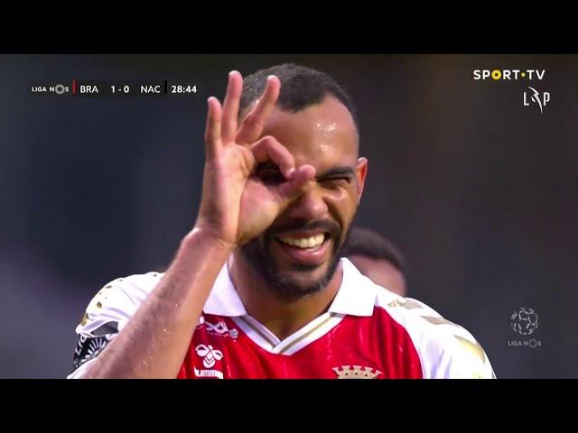 Goal | Golo Fransérgio: SC Braga (1)-0 CD Nacional (Liga 20/21 #4)