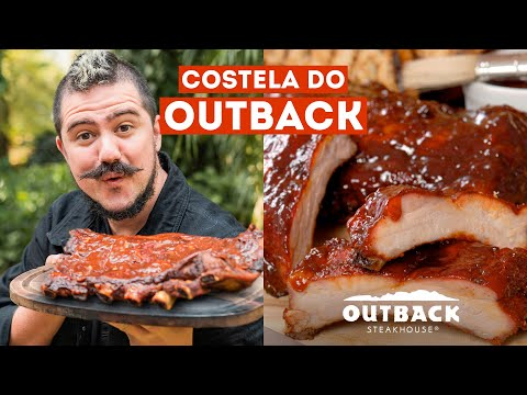 COSTELA DO OUTBACK | RIBS ON THE BARBIE