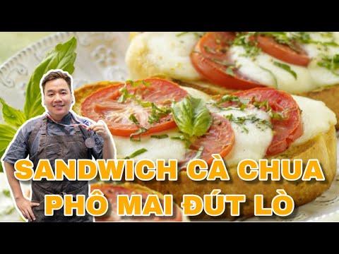 Cách làm bánh mì sandwich phô mai | Bánh mì sandwich chay | Bánh mì sandwich dễ làm | Món ăn sáng