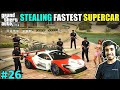 I STOLE SUPERCAR FOR $2000000 RACE   GTA V GAMEPLAY #26