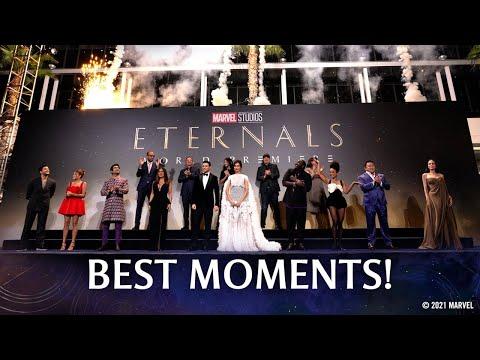 Marvel Studios' Eternals Red Carpet   Best Moments!