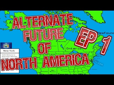 Alternate Future of North America Ep 1 - Idaho into Facists?
