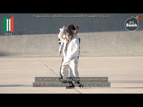 [SUB ITA] 200222 BANGTAN BOMB – 'ON' Kinetic Manifesto Film (Heli Cam ver.) – BTS (방탄소년단)