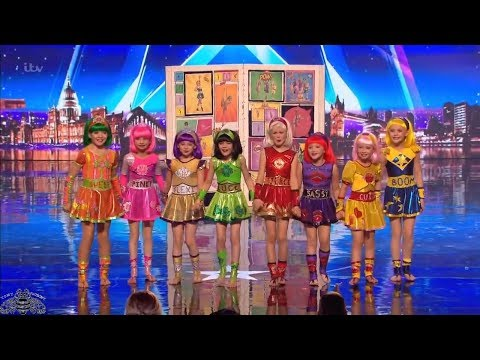 Britain's Got Talent 2018 Cartoon Heroes Full Audition S12E05