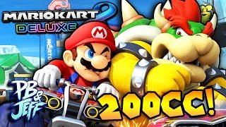 200 CC CRAZY FAST! | Mario Kart 8 Deluxe Nintendo Switch Gameplay!