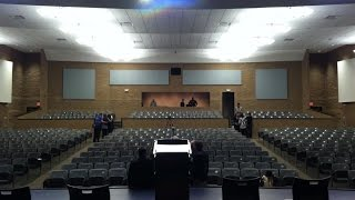 2014-15 Brentwood High Ribbon Cutting at New Performing Arts Center