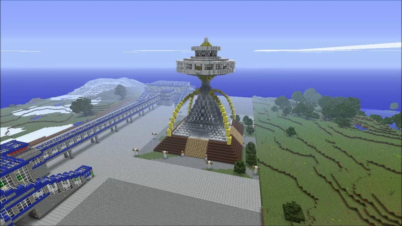 Braun llama dome from simcity 2000 minecraft youtube braun llama dome from simcity 2000 minecraft voltagebd Images