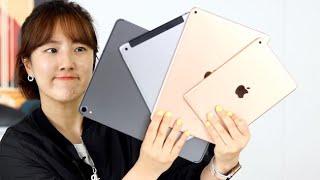 2019 iPad 라인업 총정리 I 나만의 찹쌀떡 아이패드 가이드라인 (아이패드 프로 3세대, 아이패드 에어, 아이패드 미니, 아이패드 6세대)