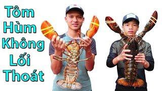 Hữu Bộ | Tôm Hùm Không Lối Thoát Kẹp Phô Mai | Grilled Alaska Lobster