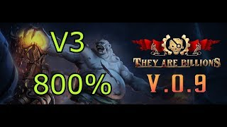 They Are Billions! | 800% Mode (Map 4/ 80 Days / 3 Giant Infected)(Attempt 3)