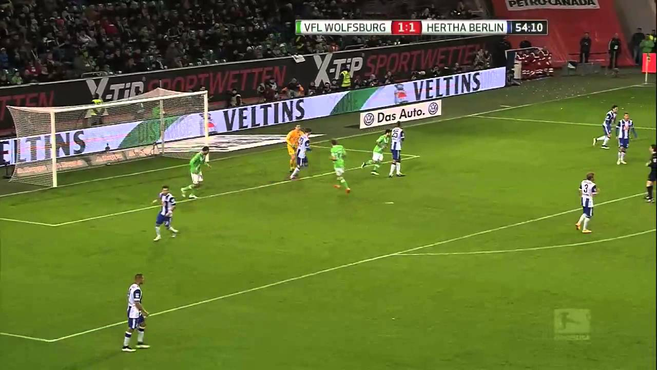 Hertha Vs Wolfsburg
