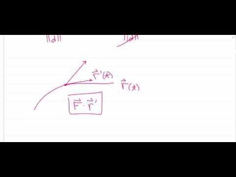 Line Integrals with Vector Fields