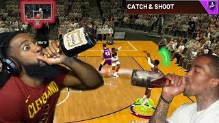 THE JR SMITH HENNAYTHING POSSIBLE 3 POINT CHALLENGE! NBA 2K20