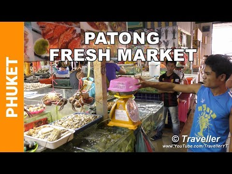 Banzaan Food Market, Patong Beach – Phuket Markets – Fresh Phuket seafood – Thai food market