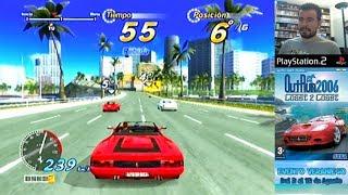 OUTRUN 2006 COAST 2 COAST (PS2) - Gameplay en Español PlayStation 2 || Evento Veraniego 2018