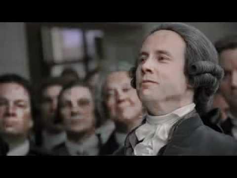 George Washington takes the Oath of Office Inauguration