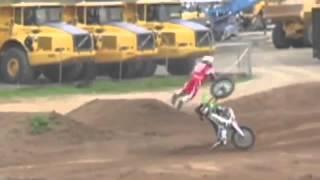 compilation chute motocross #1