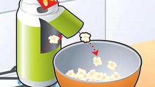 Как сделать Попкорн в домашних условиях? How to make?