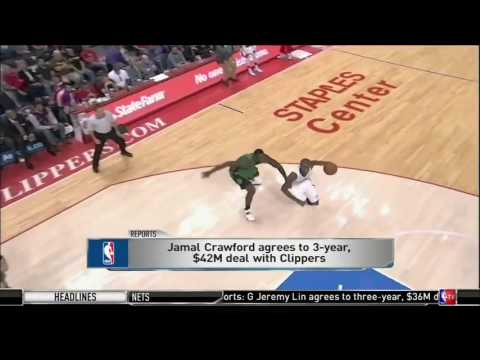 Jamal Crawford on Re Signing with the Clippers  July 3, 2016  2016 NBA Free Agency