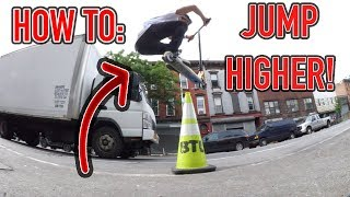 HOW TO JUMP HIGHER