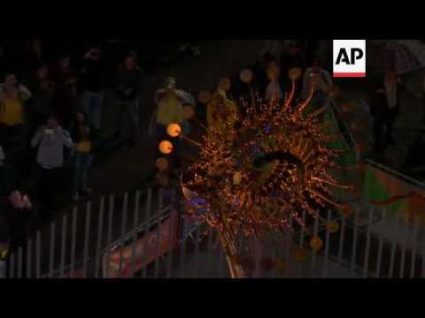 Rio 2016 Olympic cauldron is extinguished - YouTube
