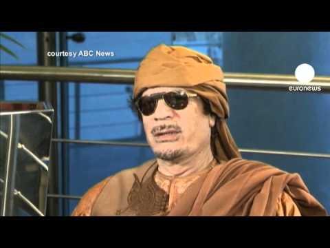 My people love me: Libya's Gaddafi